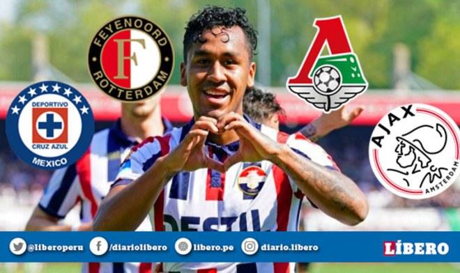 Renato Tapia jugará en Feyenoord y no en el Lokomotiv de Jefferson Farfán | Fichajes Europeos 2019
