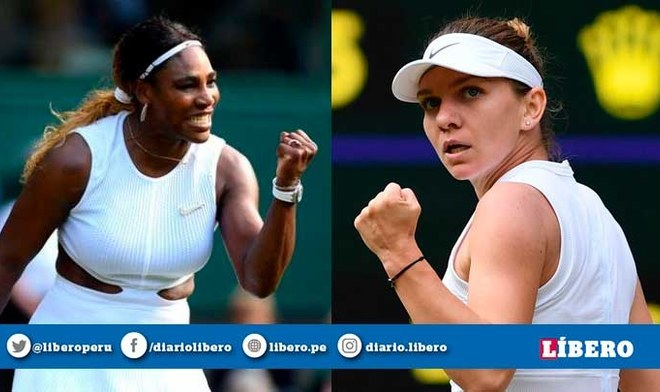 Serena Williams vs Simona Halep EN VIVO por la gran final femenina de Wimbledon 2019