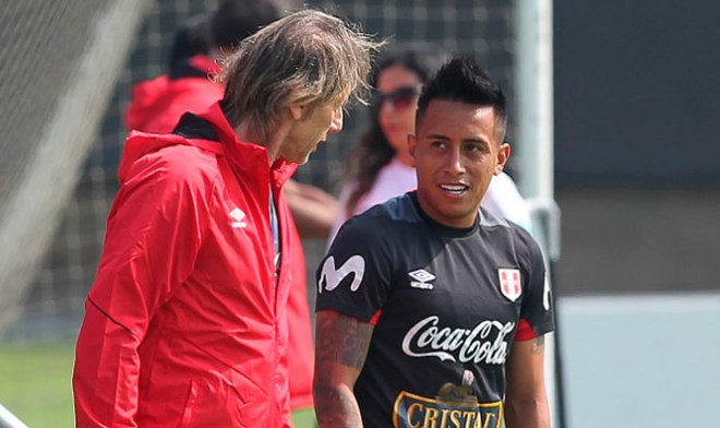 Selección Peruana, Ricardo Gareca, Christian Cueva