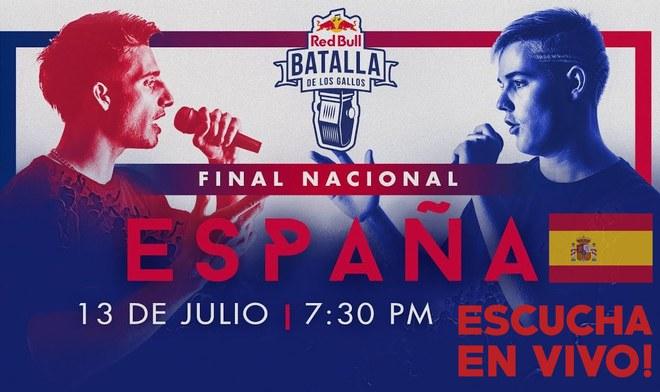 Red Bull TV Batalla de Gallos ONLINE Final Nacional España 2019 EN VIVO 13 de julio Teorema y Blon vs Kensuke
