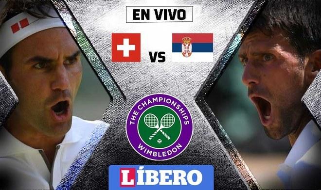 Roger Federer vs Novak Djokovic EN VIVO por la gran final de Wimbledon 2019