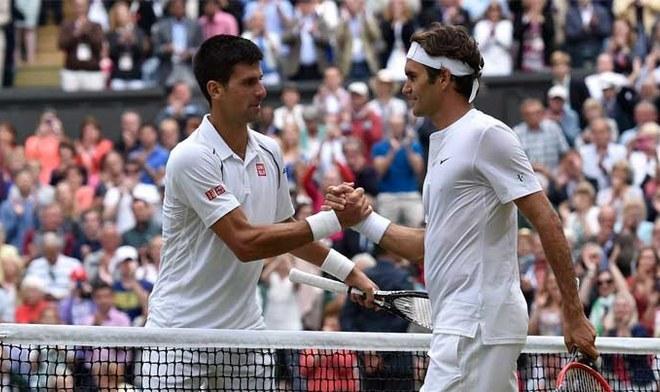 Novak Djokovic vs Roger Federer. FOTO: Difusión
