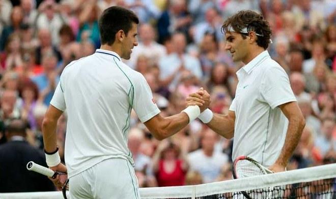Roger Federer vs Novak Djokovic. FOTO: Difusión