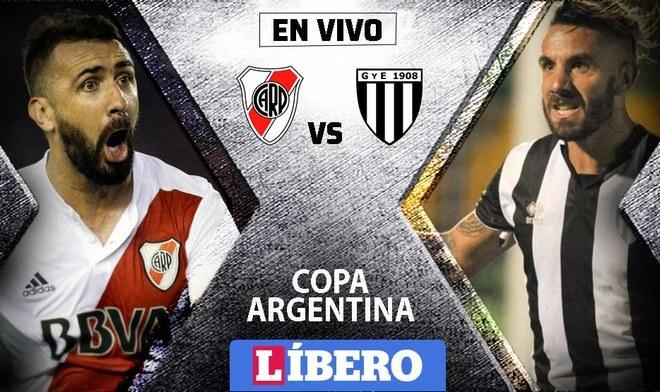 Gimnasia Mendoza vs River Plate EN VIVO por la Copa Argentina