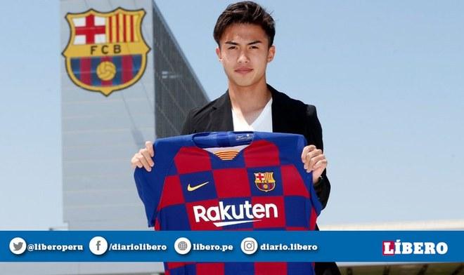 Barcelona confirma a japonés Hiroki Abe como nuevo refuerzo para la Liga Española | Fichajes 2019