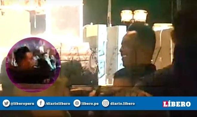 Christian Cueva fue captado bebiendo alcohol en concierto de Grupo 5 en Trujillo. FOTO: Composición