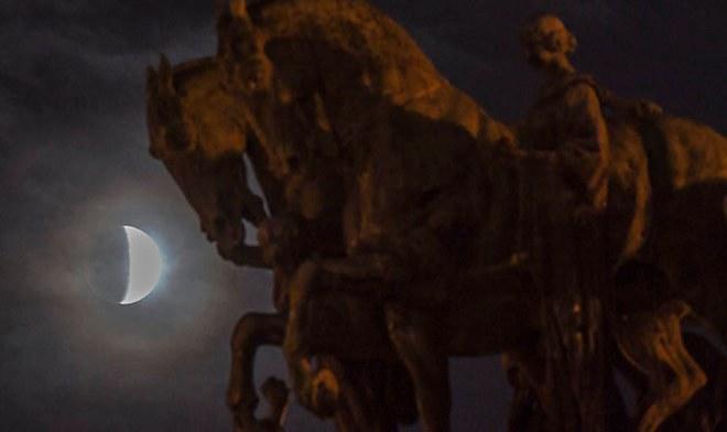 Eclipse Luna 2019 desde Brasil