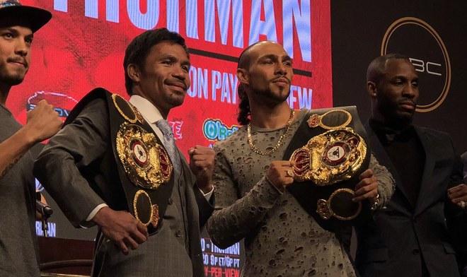 Pacquiao vs Thurman EN VIVO Azteca TV ONLINE FOX Action EN VIVO BOXEO EN VIVO GRATIS ESPN Card Main event Link Streaming hora canal Ver Pelea AMB WBA Las Vegas VIDEO