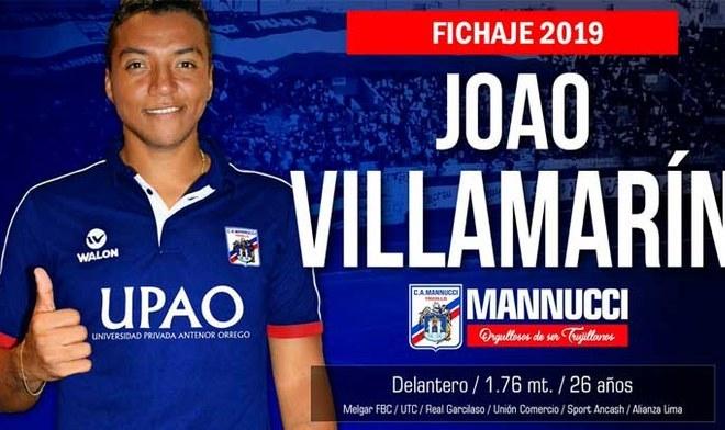 Joao Villamarín respondió a las amenazas de los hinchas de Universitario de Deportes. FOTO: Difusión