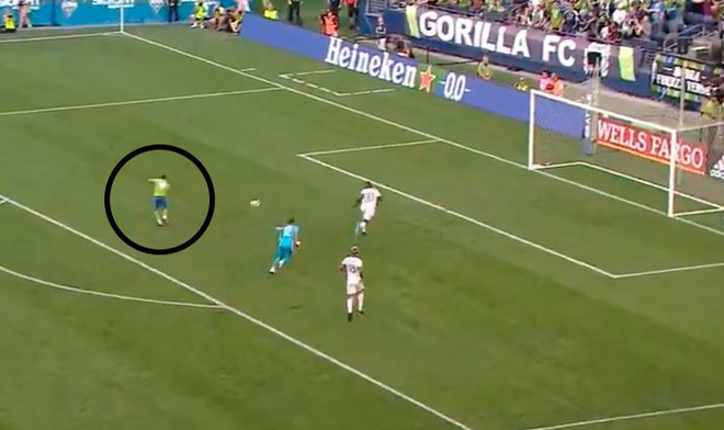 Sounders vs Portland Timbers, Raúl Ruidíaz, MLS.