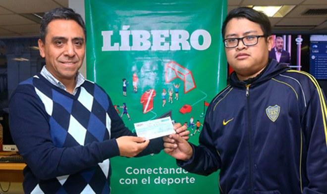 Polla Líbero Copa América: Darwin Vladimir Delgado Castro quedó en el cuarto puesto