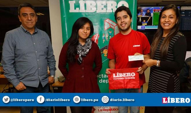 Polla Líbero Copa América | Joven huancaíno se llevó los 5000 soles