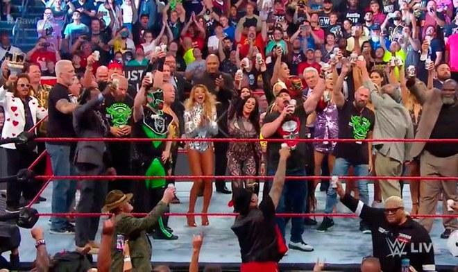 WWE, Raw, En Vivo, Fox Sports, SummerSlam, Stone Cold, Shawn Michaels, John Cena