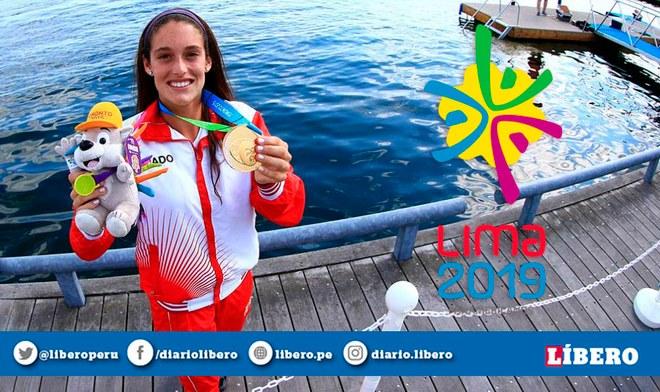 Lima 2019 | Natalia Cuglievan ONLINE Latina EN VIVO Panamericanos Lima 2019 Final Esquí Acuático Medalla de Oro TV Perú Movistar Deportes Hora Canal Fecha
