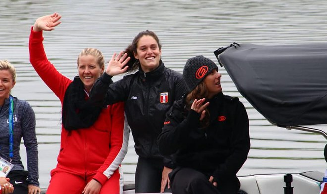 Latina EN VIVO Panamericanos Lima 2019 Natalia Cuglievan ONLINE Final Esquí Acuático Medalla de Oro Water Ski Stream TV Perú Movistar Deportes Hora Canal Fecha
