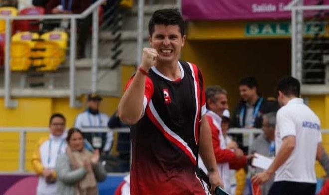 Panamericanos Lima 2019: Kevin Martínez ganó medalla de oro en la final masculina de Frontón