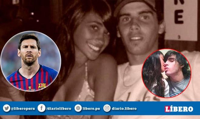 Lionel Messi   Controvertidas imágenes de Antonella Roccuzo y su expareja se hacen viral