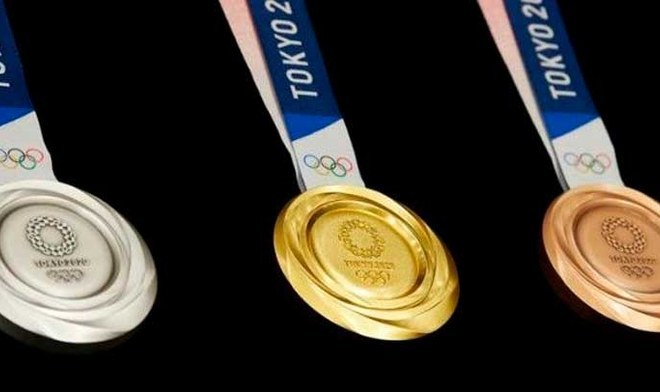 Juegos Olímpicos Tokio 2020: Medallas olímpicas serán fabricadas de basura tecnológica. FOTO: Difusión