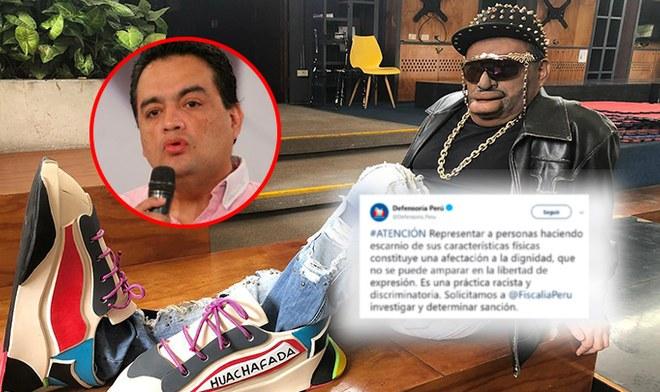 Defensoría exige sanción a Jorge Benavides por imitación sobre Jefferson Farfán