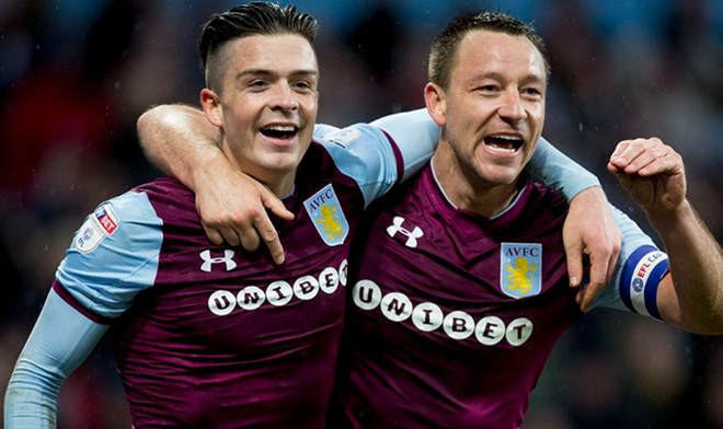 Jack Grealish y John Terry
