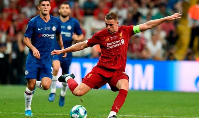 Liverpool vs Chelsea. | Foto: Twitter