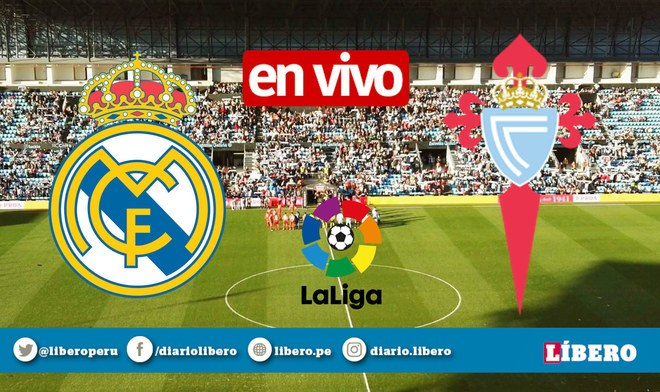 DirecTV EN VIVO Real Madrid vs Celta ONLINE Movistar Partidazo Live Stream hora canal LaLiga TV Link Partido de hoy Liga Santander 2019-2020 Fútbol GRATIS James Rodríguez VIDEO