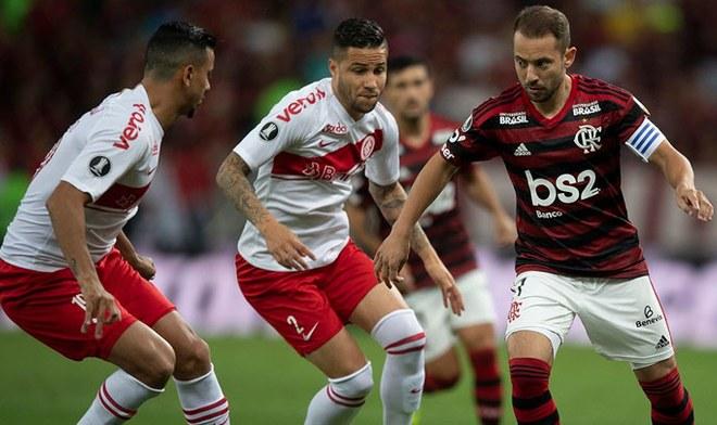 Internacional vs Flamengo, FOX Sports en vivo, Gol de Paolo Guerrero, Partido de hoy Copa Libertadores, Globo TV online, SporTV