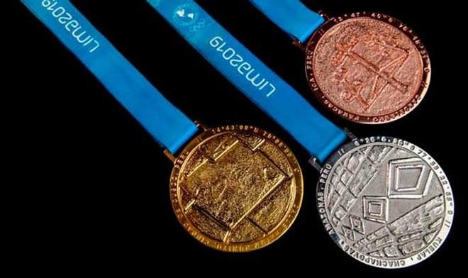 Medallero Parapanamericanos Lima 2019. FOTO: Difusión