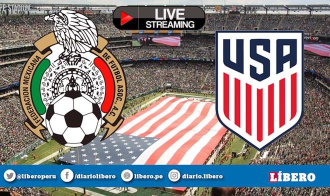Televisa TUDN EN VIVO México vs Estados Unidos ONLINE Azteca EN VIVO GRATIS Partido de hoy fecha FIFA Live Stream hora México Canal 5 TV Univisión Chicharito Chucky Lozano VIDEO