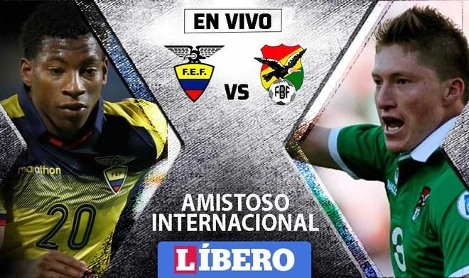 Ecuador vs Bolivia EN VIVO en amistoso internacional por fecha doble FIFA. FOTO: Composición