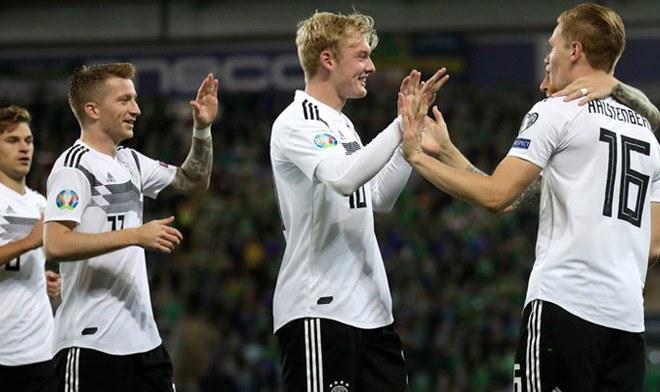 Alemania vs Irlanda del Norte