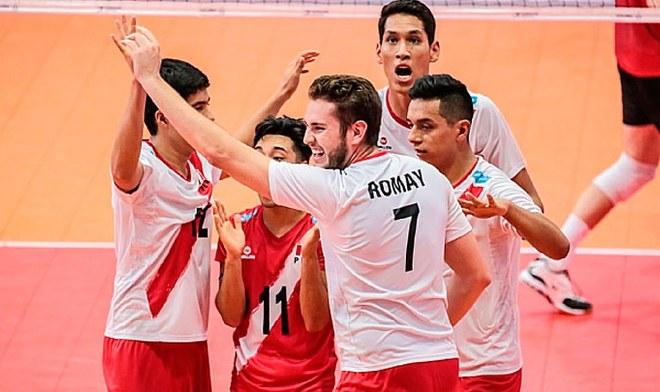 Perú vs Venezuela, En Vivo, Vóley, Sudamericano de Chile, Eduardo Romay.