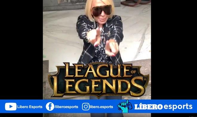 !PARA NO CREER¡ Laura Bozzo jugará League of Legends