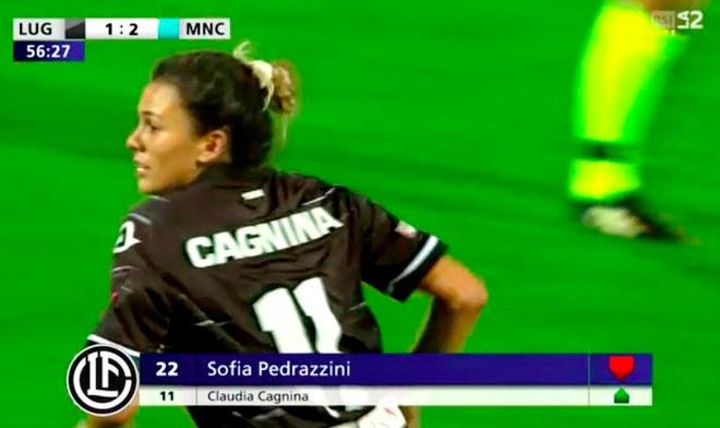 Champions League   Futbolista peruana Claudia Cagnina debutó en el partido FC Lugano vs Manchester City   Selección Peruana   Fútbol Femenino