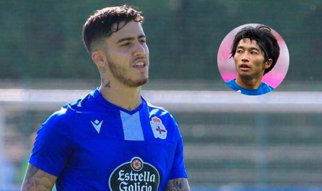 Japonés desplazó a Beto de Silva de la convocatoria en Deportivo La Coruña. FOTO: Difusión