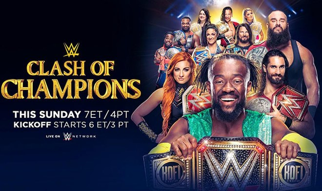 FOX Action EN VIVO WWE Clash of Champions 2019 ONLINE HOY Gratis Lucha Libre WWE Network Link Stream Match Card Fecha hora México canal TV Rollins Resultados Cartelera YouTube VIDEO