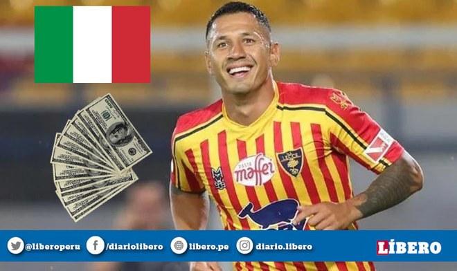 Selección Peruana | Gianluca Lapadula: cuántos millones gana futbolista del Lecce como salario en la Serie A de Italia | Cristiano Ronaldo | Dólares | Euros | YouTube | VIDEO