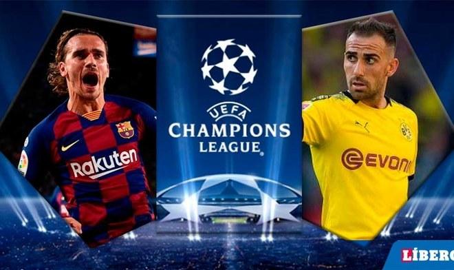 Barcelona vs Borussia Dortmund EN VIVO por la Champions League. FOTO: Composición
