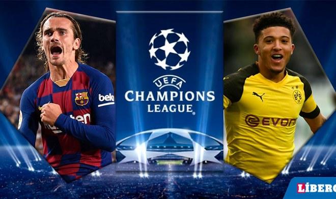 Barcelona vs Dortmund EN VIVO