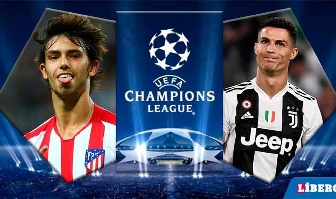 Atlético de Madrid vs Juventus EN VIVO por la primera fecha de la Champions League. FOTO: Difusión