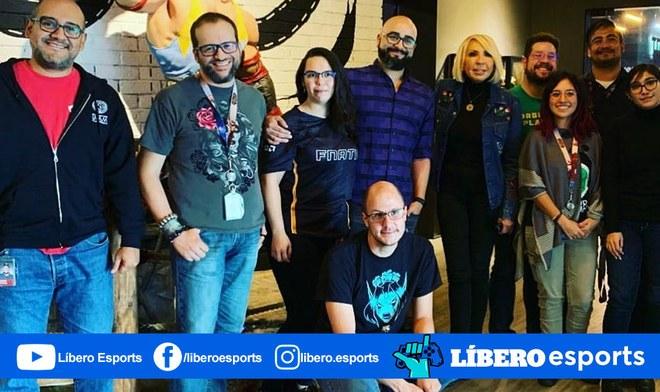 League of Legends Laura Bozzo visitó los estudios de Riot Games