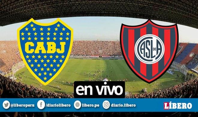 Boca Juniors vs San Lorenzo EN VIVO ONLINE FÚTBOL GRATIS vía FOX Sports TNT Sports TyC Sports por la fecha siete de la Superliga Argentina Carlos Tevez partidos de hoy