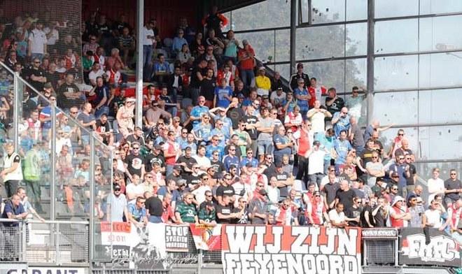 Hinchada de Feyenoord. FOTO: Difusión