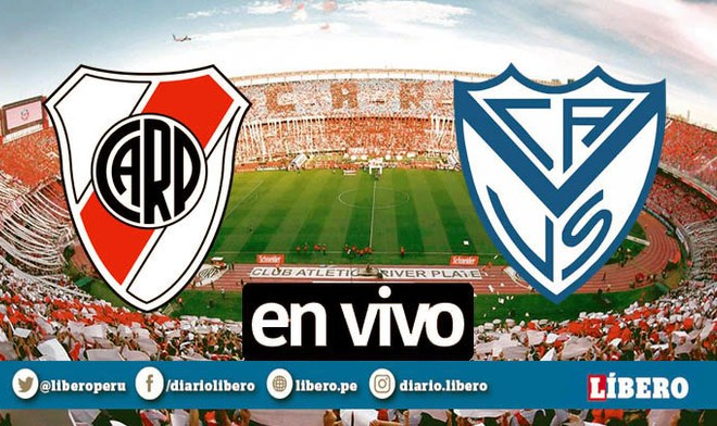 TNT Sports EN VIVO River vs Vélez ONLINE FOX Sports EN VIVO APUROGOL Fútbol Argentino TV Pública EN VIVO Partido HOY Superliga Argentina Hora Buenos Aires Abram Monumental Canal TV VIDEO