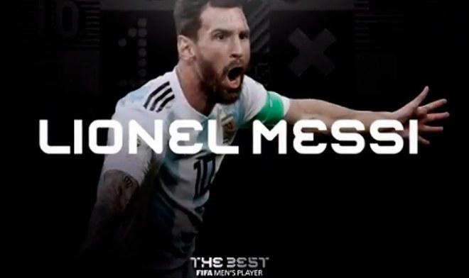 Lionel Messi, The Best