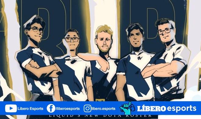 Dota 2 | Team Liquid adopta al antiguo roster de Alliance