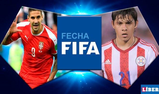 Paraguay vs Serbia EN VIVO vía Tigo Sports ESPN GRATIS ONLINE Transmisión de partidos EN DIRECTO amistoso internacional fecha FIFA