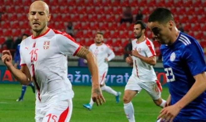 Paraguay vs Serbia. FOTO Difusión