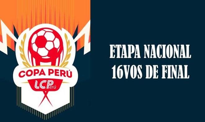 Copa Perú 2019: programación de la fecha y hora de partidos de ida por 16vos de la Etapa Nacional