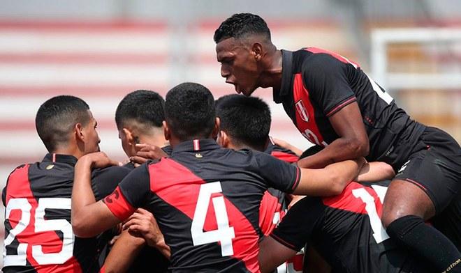Perú, Colombia, Sub 23